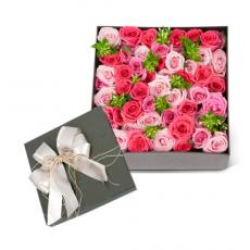 [9-상자]핑크빛 장미